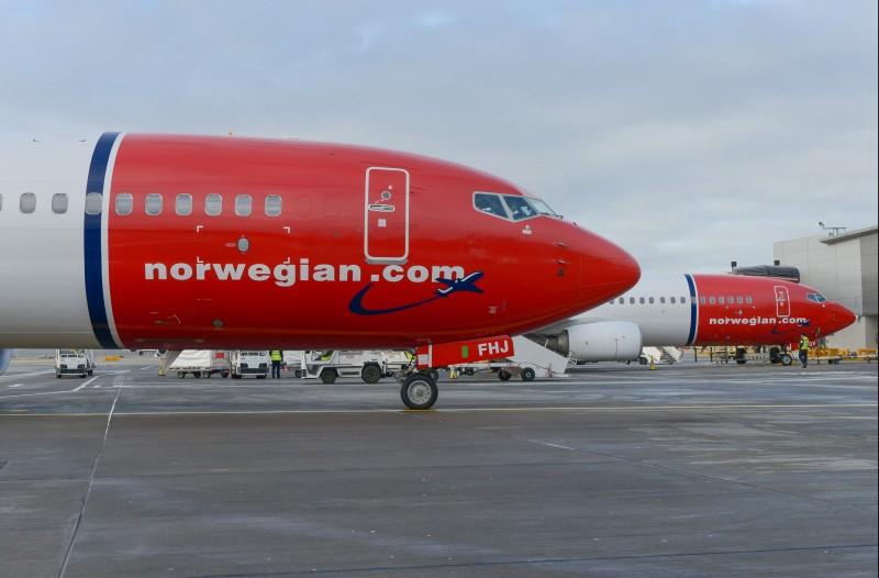 Obecnie po cięciach we flocie Norwegian funkcjonuje w granicach minimum, obsługując tylko kilka lotów krajowych.