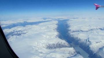 Norwegia zimą - fiordy, lodowiec Folgefonna, na zbliżeniu Odda