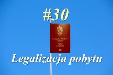 Nowy w Norwegii - #30 Legalizacja pobytu