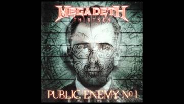 Megadeth - Public Enemy No. 1 (Audio)