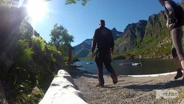 A, Norwegia - Wędrówka wokół jeziora | Podróżne #2