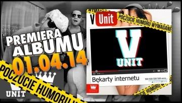 V-Unit - V nie dla ACTA (KRADZIONY BIT) OFFICIAL VIDEO