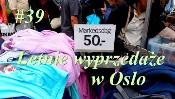 Nowy w Norwegii #39 - Letnie wyprzedaże w Oslo