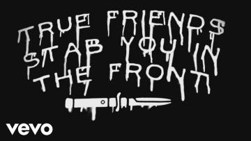 Bring Me The Horizon - True Friends (Official Lyric Video)