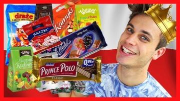 Norwegian trying Polish Candy