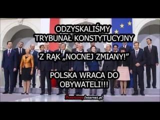 """Trybunał Konstytucyjny ODBITY Z RĄK """"NOCNEJ ZMIANY""""! Wraca do Polaków!"""