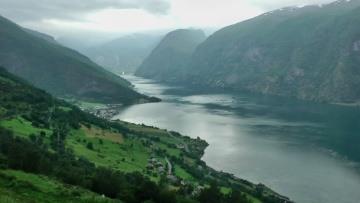 Aurlandsfjord and Nærøyfjord, Norway in HD