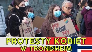 Trondheim protestuje - Strajk kobiet w Norwegii