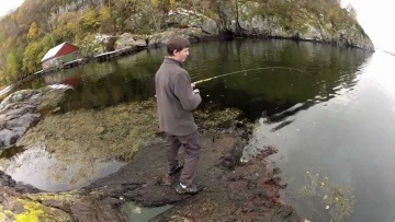 Fishing in The Fjords of Norway