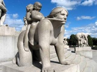 Vigeland Sculpture Park (Frogner Park), Oslo, Norway