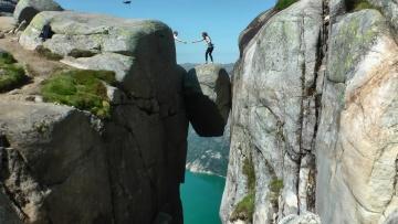 Kjerag Hike and Kjeragbolten, Norway in HD