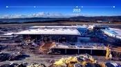 Bergen NEW AIRPORT T3 timelapse FULL HD