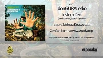 13. donGURALesko - Jestem Dziki feat. Dj Kostek (prod. Matheo)