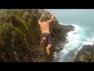 Cliff Jumping Hawaii - Proof