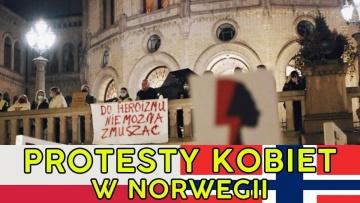 Norwegia protestuje - Strajk kobiet w Norwegii
