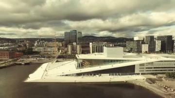 Oslo z lotu ptaka