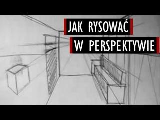 Perspektywa - Poradnik Rysowania #3 [Kocham Rysować]