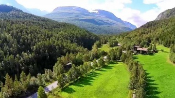 Road trip through beautiful South Norway shot with Phantom 2 Vision+ quadcopter (Aerial footage)