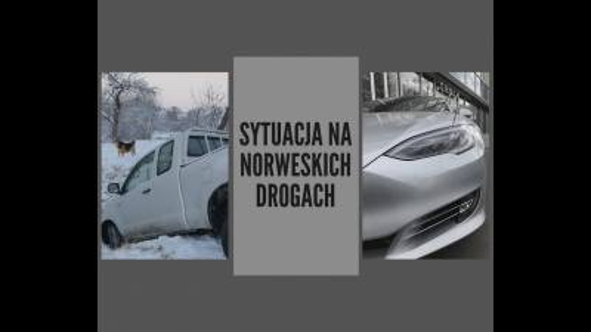 Wzrost liczby wypadków na norweskich drogach