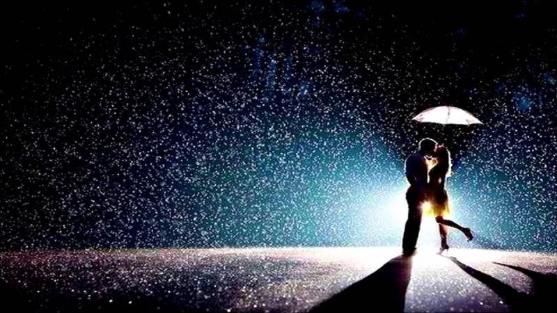 Поцелуй под дождем  № 3358148  скачать