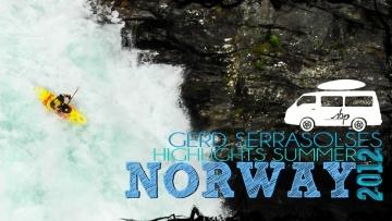 Ekstremalne kajaki w Norwegii!