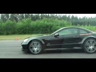 AG Nissan GT-R 851 HP (E85) vs Mercedes SL65 AMG Black Seriesx2