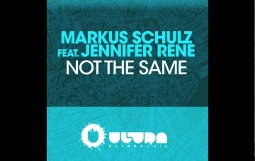 Markus Schulz ft. Jennifer Rene - Not The Same (Cover Art)