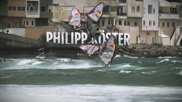 Portrait du Windsurfer Philip Koster