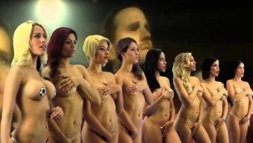 Venezuela girl 100%  undressed , mobilize team Venezuela at the Copa America Chile 2015