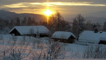 Norwegian Winter Sun