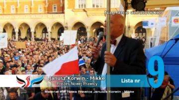 Spot KNP odrzucony przez państwową stację TVP!