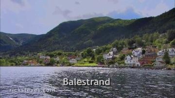 Balestrand, Norway: Smörgåsbord with a View