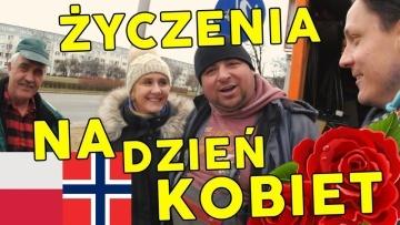 DZIEŃ KOBIET - Życzenia od Polaków dla kobiet w Norwegii