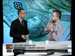 Poseł PO wyśmiany przez redaktora w telewizji