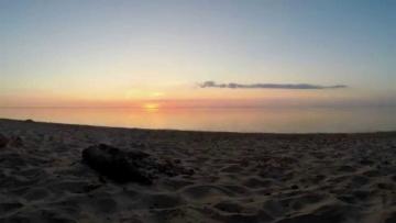 A little test. Sunrise Gdynia / Poland