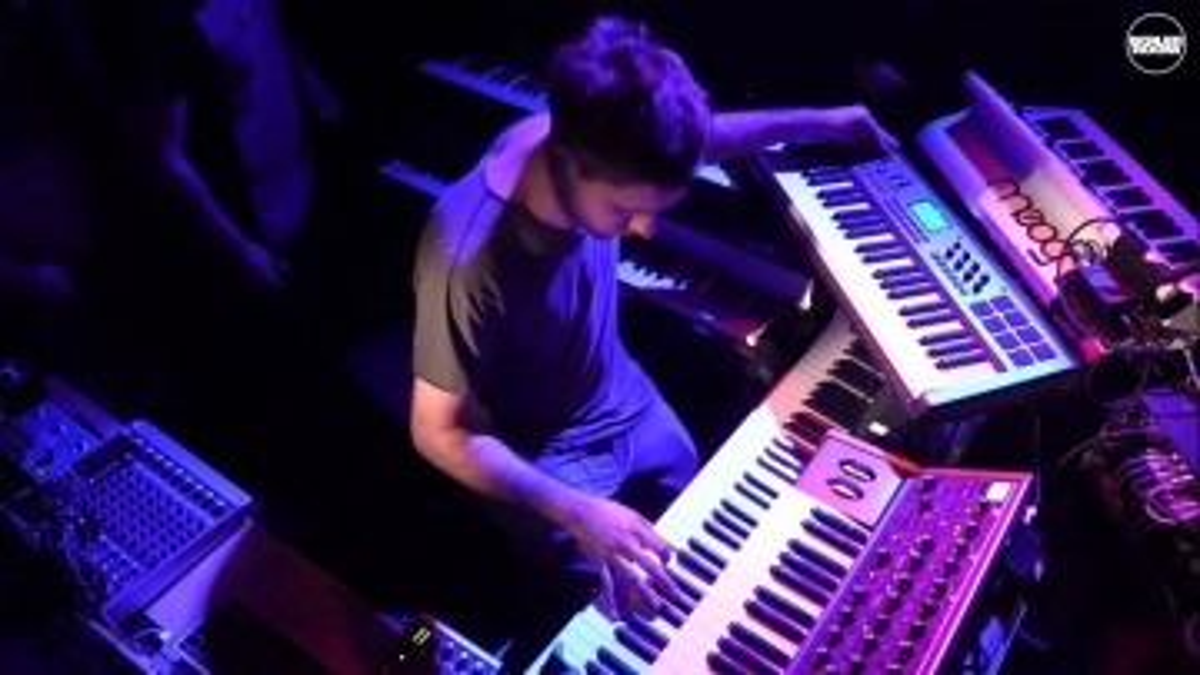 Jan Blomqvist & Band Boiler Room Berlin Live Set