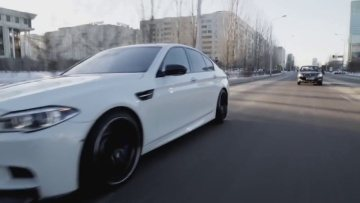 Night Lovell - 300 Thousand (Prod. Cavalier) / BMW M5 F10 Cold Drift